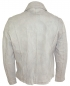 Preview: bruno banani Body Fit Lederjacke Vintage Modell Magnus in taupe 81010778692