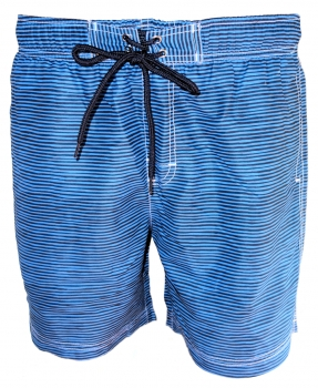 Baileys Swim Short Beach in royalblau dunkelblau Streifendessin 811099-19