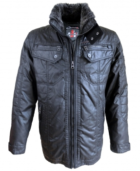 Cabano New Canadian Carbon Jacke in schwarz 51133242401