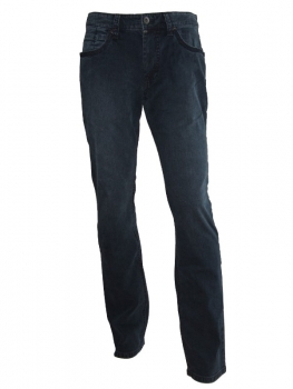 Hattric Jeans Hardy Stretch 5 Pocket Stil in darkblue 688805-429145
