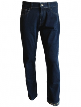 Hattric Thermo Jeans Henk 5 Pocket Stil in dark blue 689635-621085