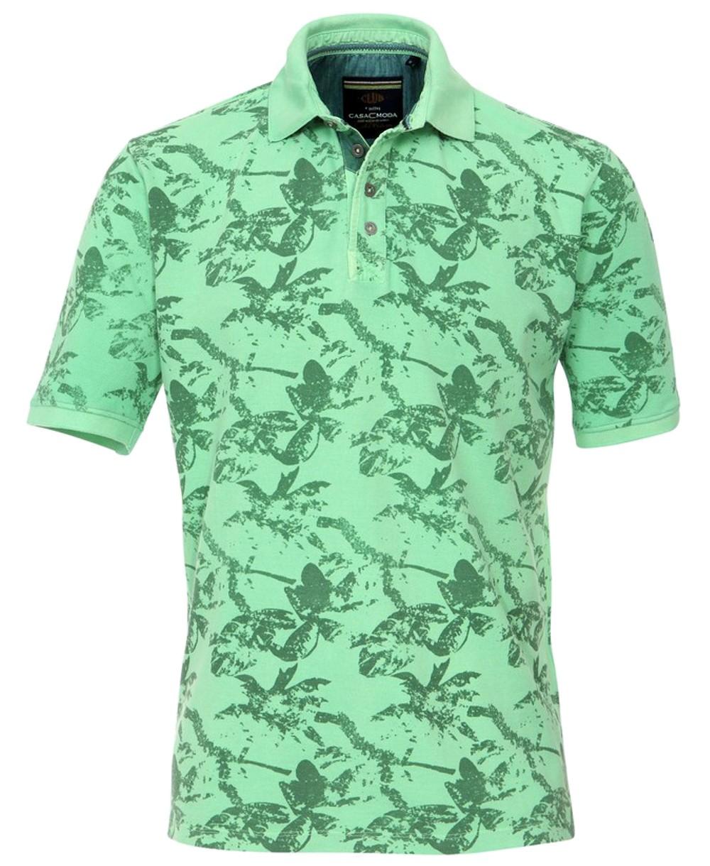 casa moda polo shirt floral 962384600 326 hochwertige herrenmode f hrender marken zu fairen. Black Bedroom Furniture Sets. Home Design Ideas